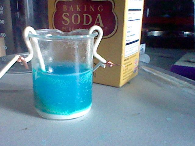 The Experimenter Life: Electrolysis of Sodium Bicarbonate to