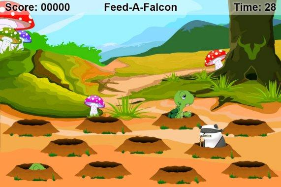 Feed a Falcon- screenshot