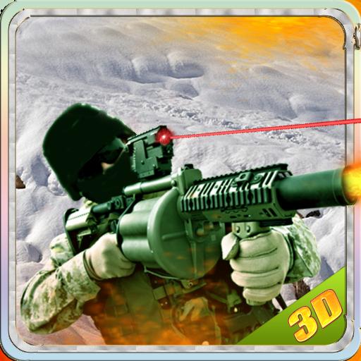 突擊隊戰士動作3D 動作 LOGO-玩APPs