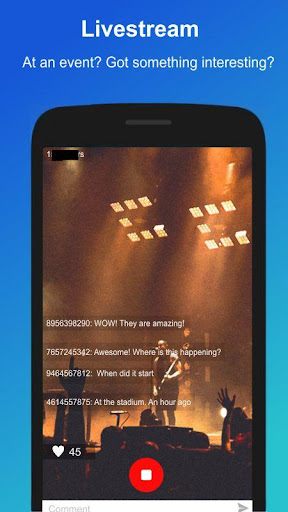 Livewire - Livestream and group video chat app screenshot 2