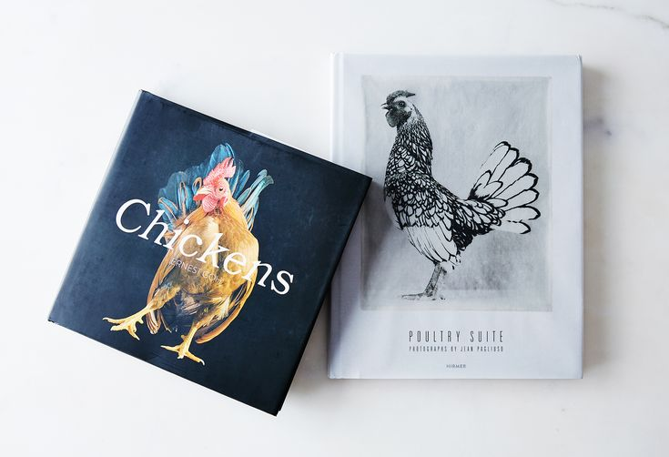 These chicken books aren't for cooking