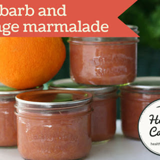 Rhubarb and Orange Marmalade.