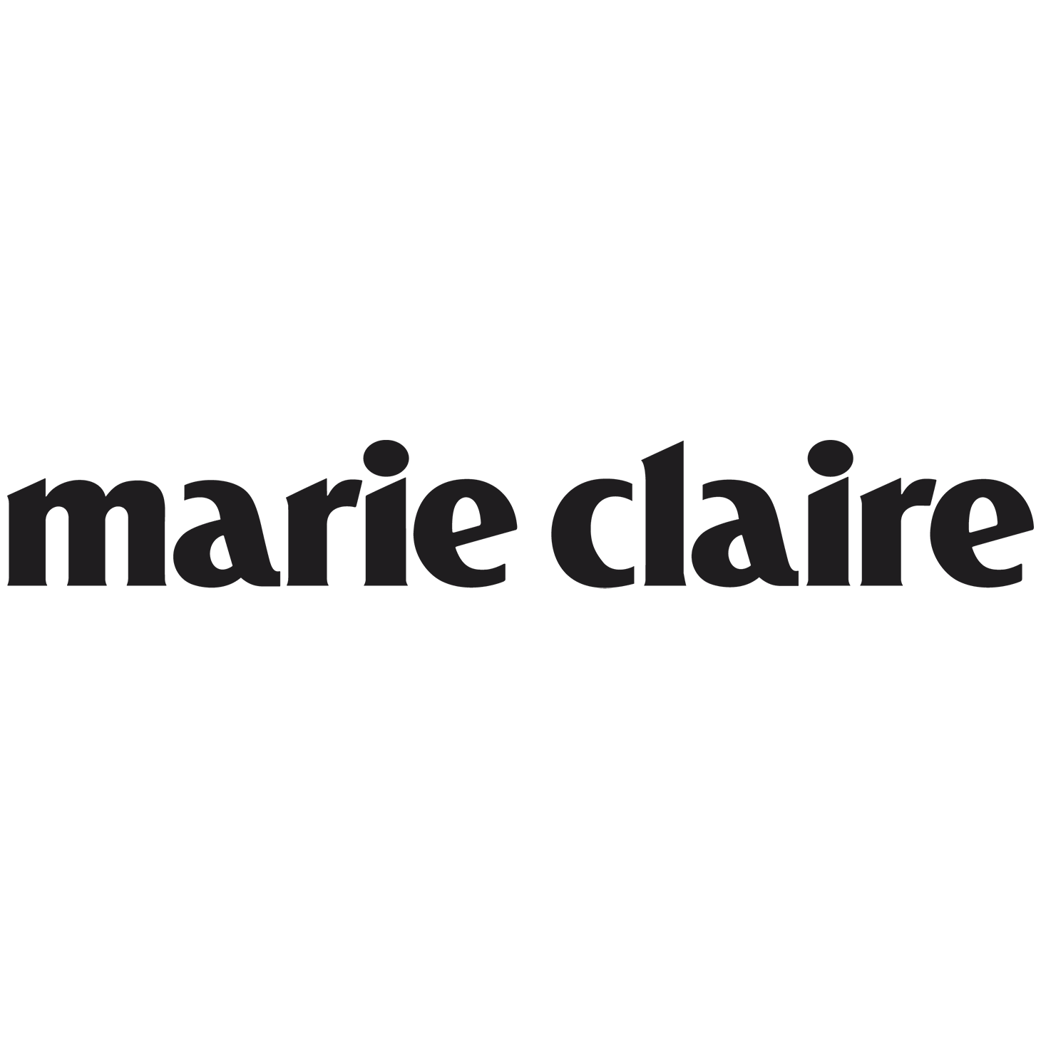 Marie Claire Logo Black Transparent