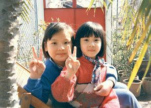 Photo: Our neices @ Chai Kek, Tai Po, Hong Kong : Maizie & Cammy!