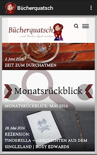 Bücherquatsch- screenshot thumbnail