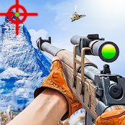 Mountain Sniper 3d shooter: New shooting game 2020 MOD APK 1 (Mega Mod)