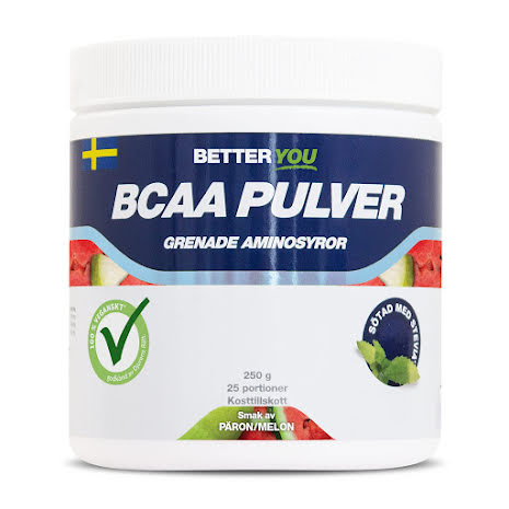Better You BCAA 250g - Päron/Melon