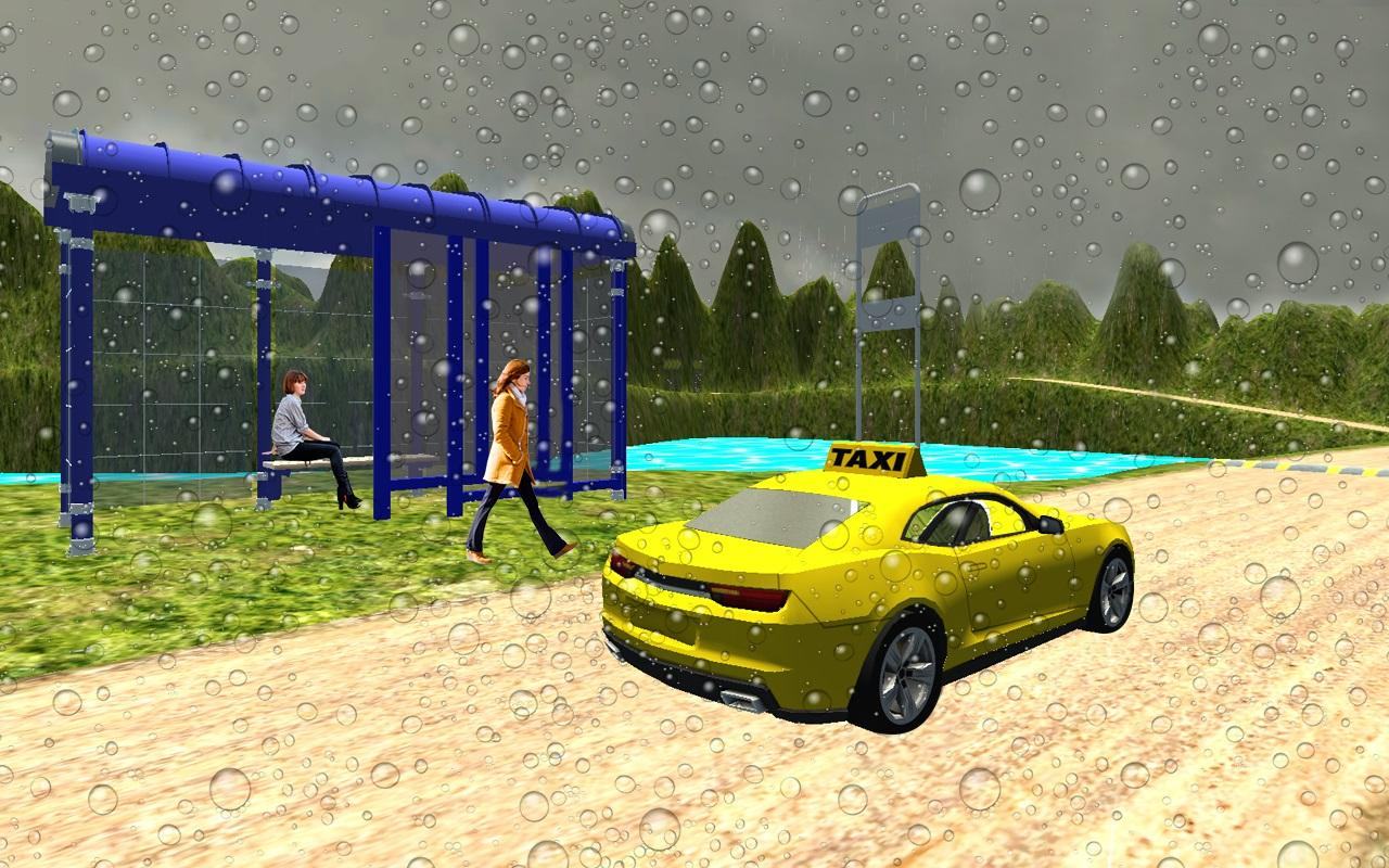 Screenshots of Hill Taxi Driver 3D 2016 for iPhone