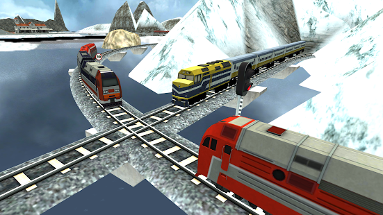 Indian Train Racing Simulator 2018 - náhled