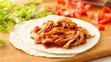 3 Ingredient Slow-cooker Shredded Mexican Chicken Recipe