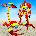 Scorpion Robot Transform War: Air Jet Robot Games icon