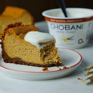Pumpkin Cheesecake #madewithchobani