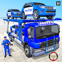 Grand Police Prado Car Transport icon