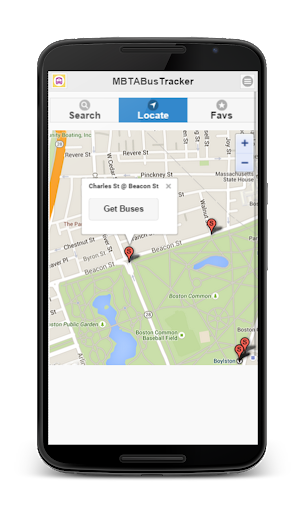 MBTA Bus Tracker  screenshots 2