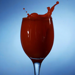 red drops by Mervin Anto - Food & Drink Alcohol & Drinks ( tabletop, wine cup, drinks )