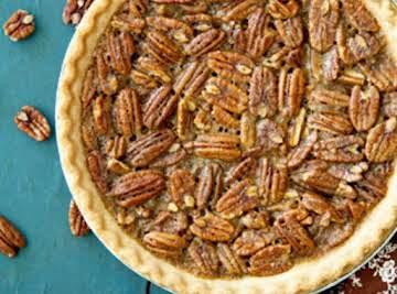Bourbon Pecan Pie: aka Douglas' Dark Rum Pecan Pie