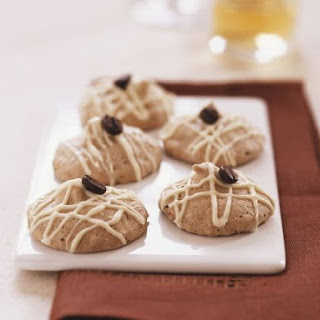 Coffee Almond Macaroon Cookies.