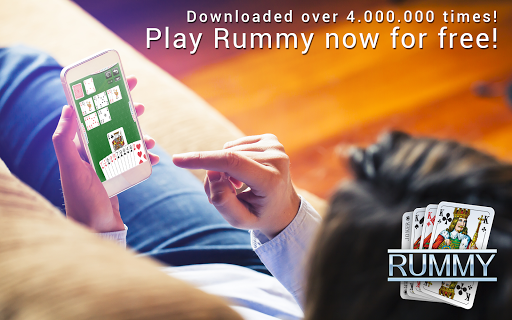 Rummy - free card game - screenshot