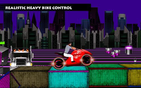 Neon Bike Racer - náhled