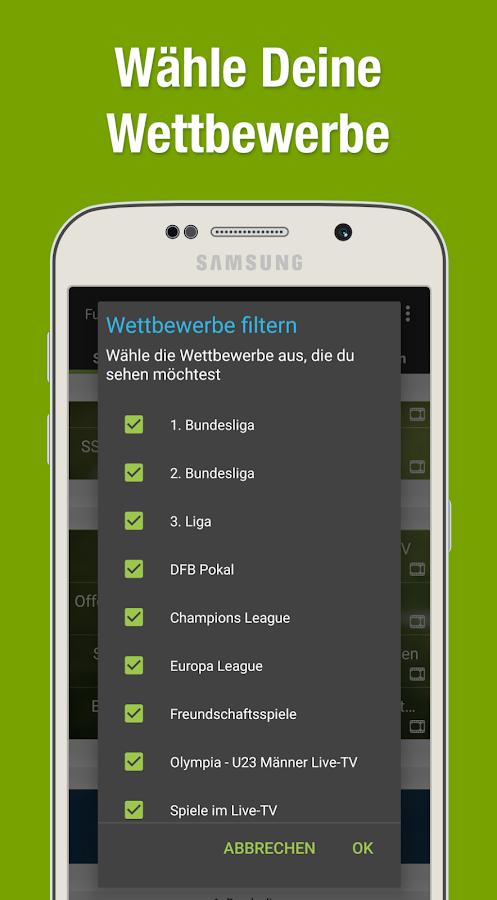 fußball ergebnisse app kostenlos