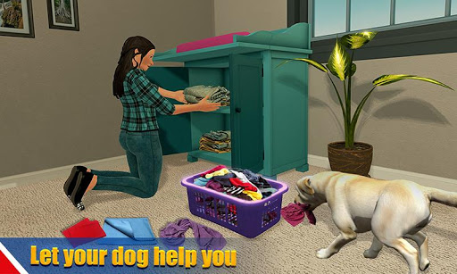 Virtual dog pet cat home adventure family pet game 1.5 screenshots 1