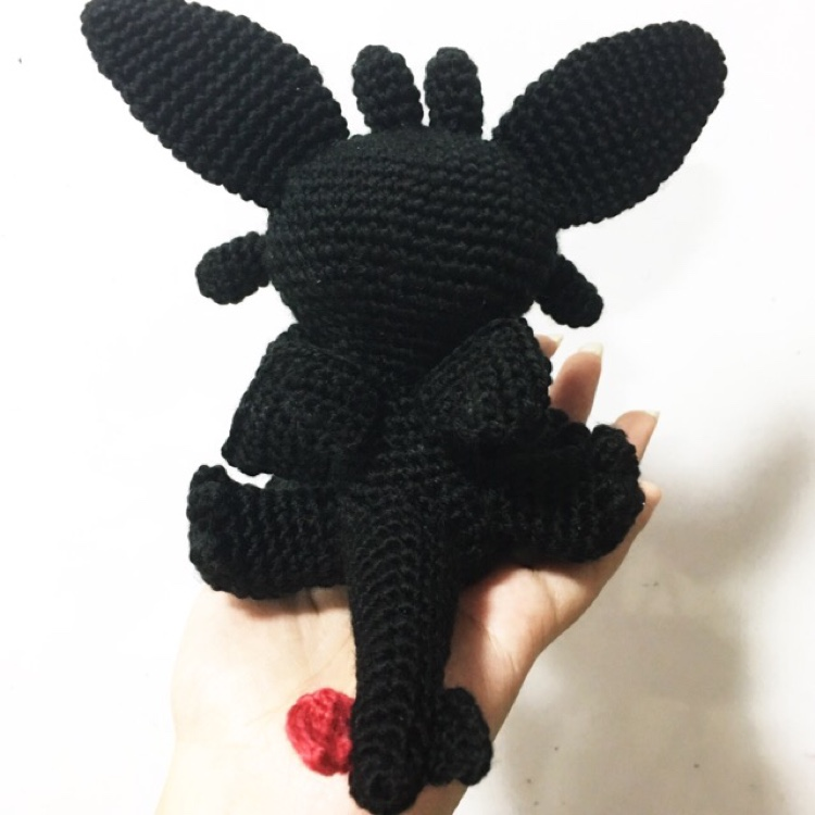 Crochet toothless