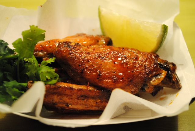 Honeyed Sriracha Wings Recipe