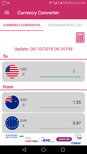 New Zealand Dollar And Euro Converter