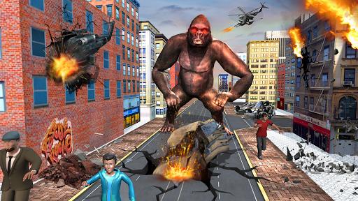 Real Gorilla Rampage Simulator