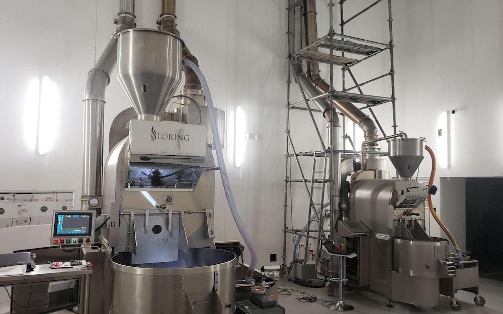 roasting machinery