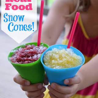 How to Make Snow Cones.