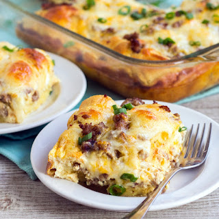 Breakfast Casserole With Sausage And Crescent Rolls Recipes.