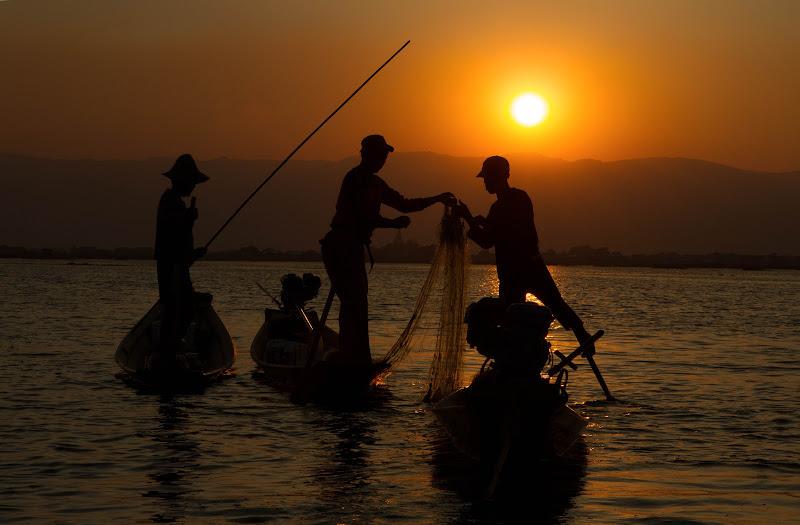 i pescatori del lago inle di antonioromei