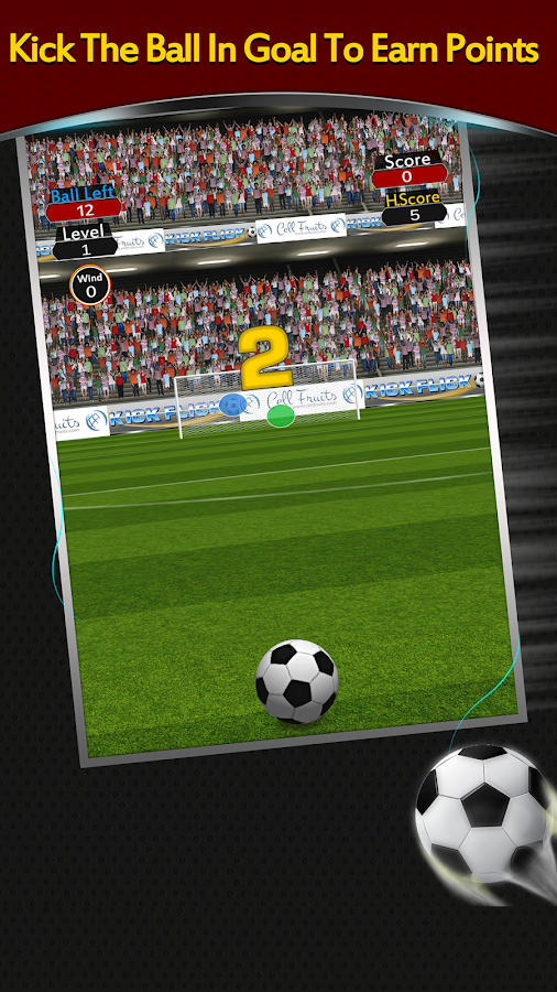 Штрафной удар / Flick Soccer - for Android and iOS ...