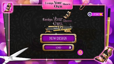 Design Your Own Shoes Game 3D screenshot thumbnail