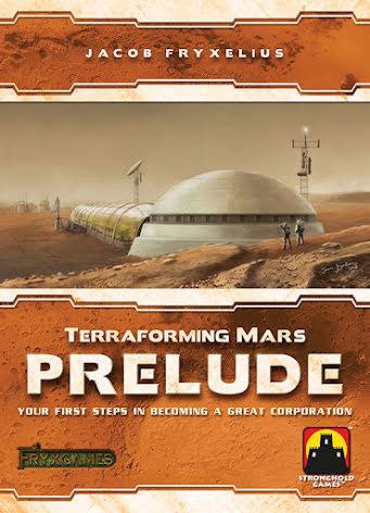 Terraforming Mars: Prelude Expansion (ENG)