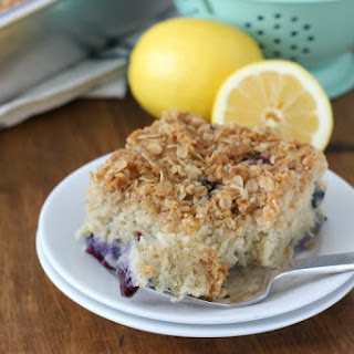 Gluten Free Blueberry Lemon Coffee Cake.