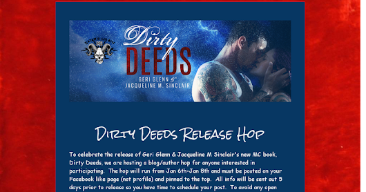 Dirty Deeds Release Hop