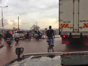 Photo: Kampala traffic