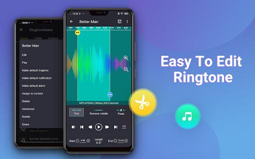 Ringtone Maker - Mp3 Editor & Music Cutter 2.5.7 screenshots 10