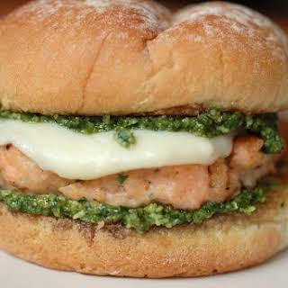Pesto Salmon Burger.