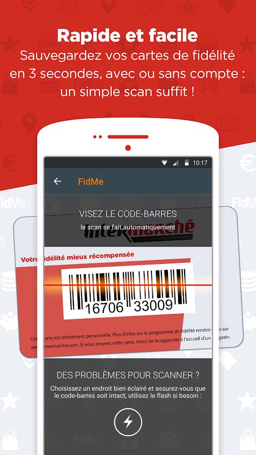 fidme cartes de fid lit promo pour vos courses applications android sur google play. Black Bedroom Furniture Sets. Home Design Ideas