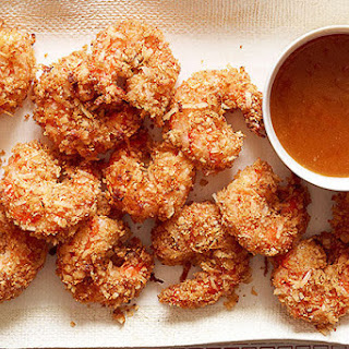 Coconut Shrimp with Sweet & Spicy Dipping Sauce.