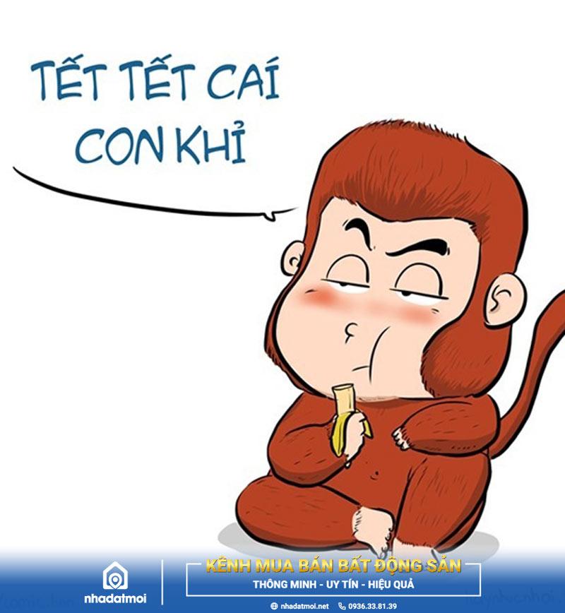 Ảnh chế Tết Tết cái con khỉ