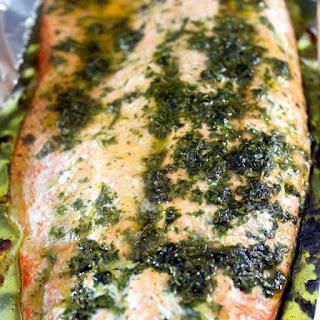 Cilantro Lime Salmon.