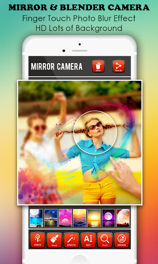 3d Mirror Photo Blender Editor Android Apps On Google Play
