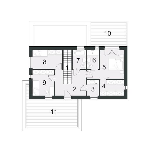Charyzmatyczny D17 - Rzut piętra