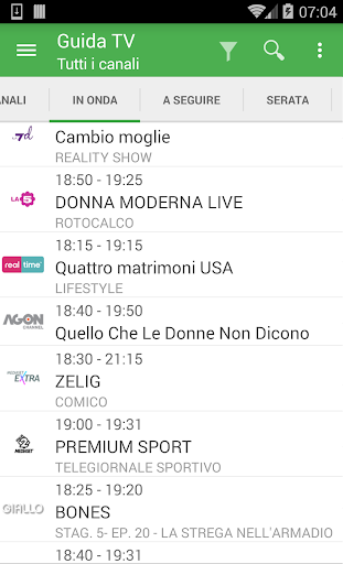 TV Guide Italy FREE screenshot 2