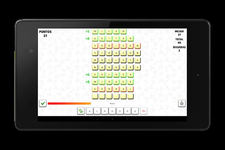 android A Pensar Palabras Screenshot 5