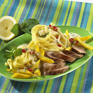 Smoked Lamb with Lemon and Chili Linguine
